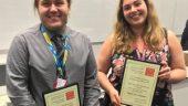 Raquel and Ed Win Prizes!