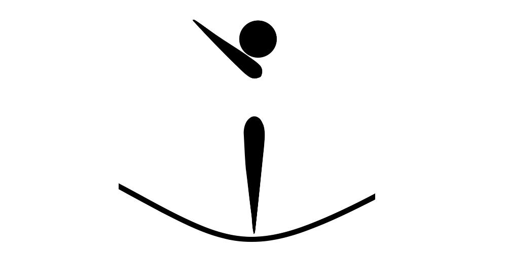 trampolinist graphic