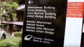 John Percival building sign