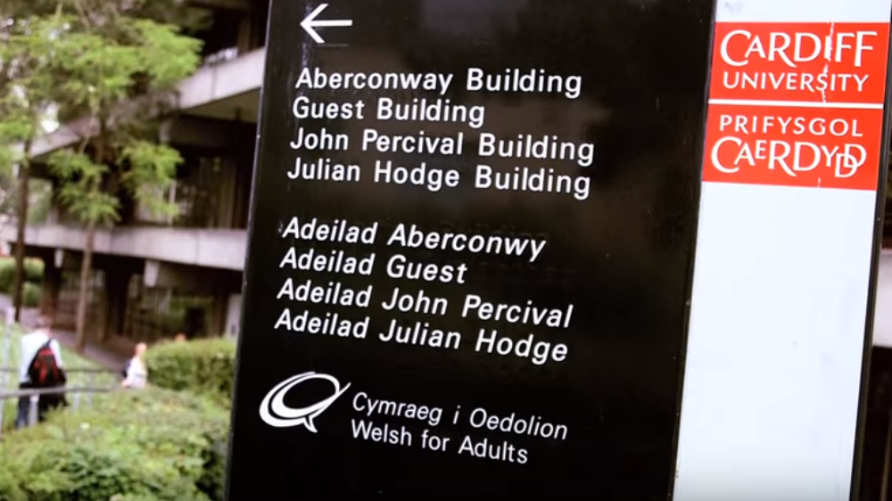 John Percival building sign