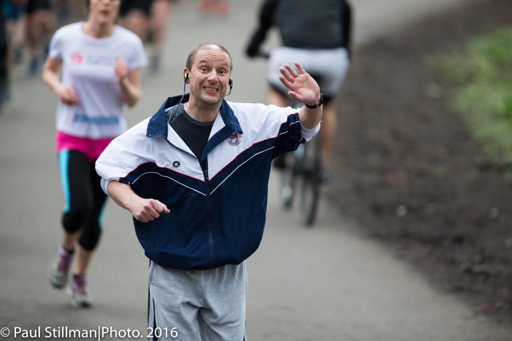#TeamCardiff runner and Chemistry Lecturer Mark Elliott