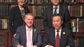 Chinese investment in Cardiff University's biomedical research