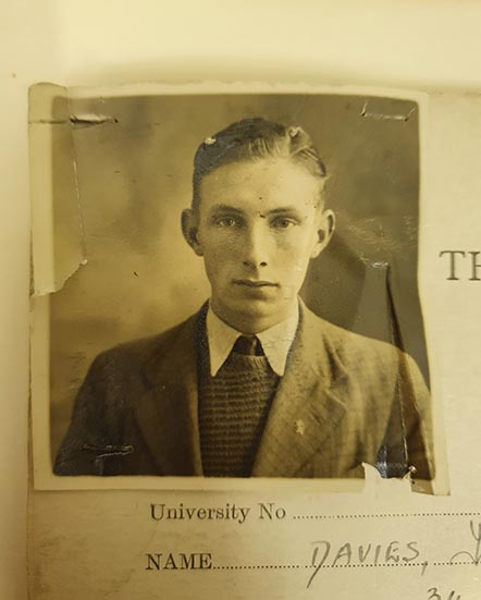 Trevor Davies, Rosamund's father