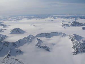 Aerial View of Svalbard © Irene Quaile