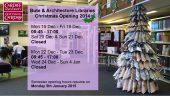 Xmas 2014 – Opening Hours