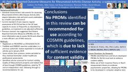 ISOQOL and Patient Reported Outcome Measures (PROMs)