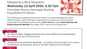Visual Research Methods – Working with Creatives Event