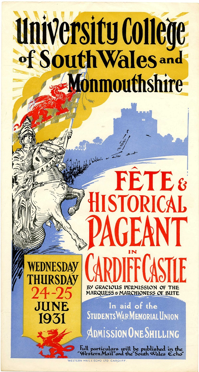 Cardiff Fête and Pageant, June 1931
