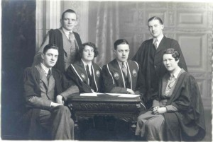 Students' Union Officers, 1933 [ref. UCC/Misc/P/28]