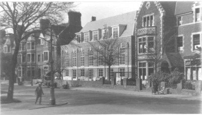 Original Students' Union Building, 1933