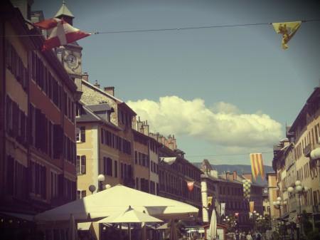Chambéry streets
