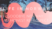 Goodbye Norway: An honest retrospect on studying abroad