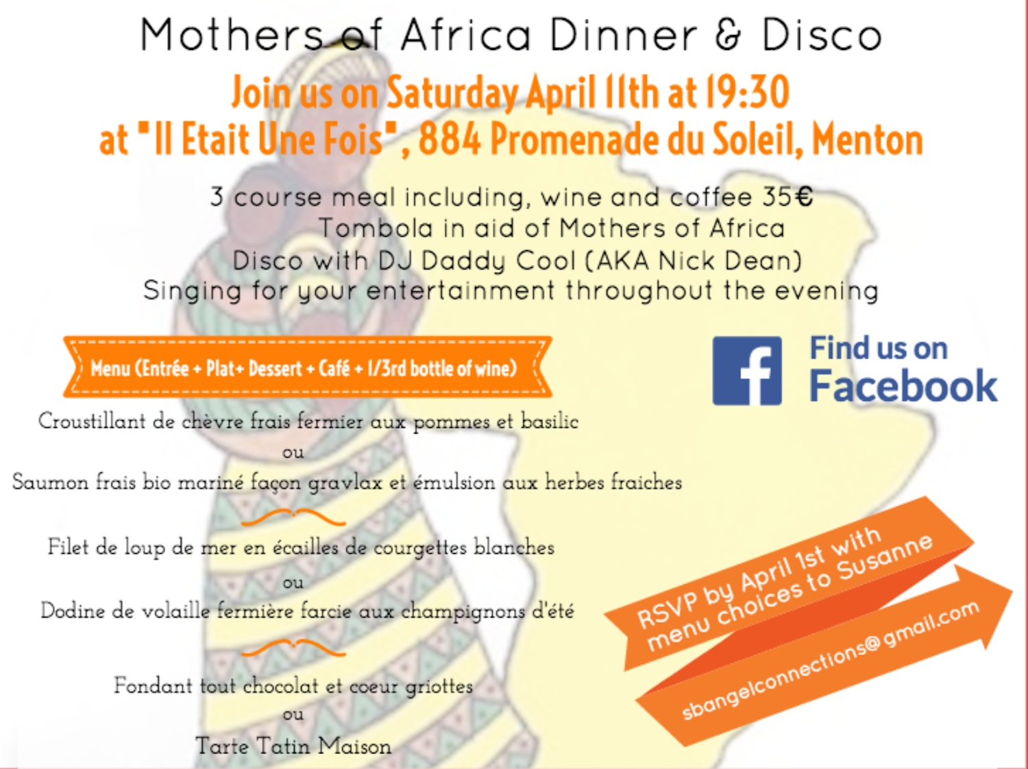 Mothers Of Africa Monaco – First event