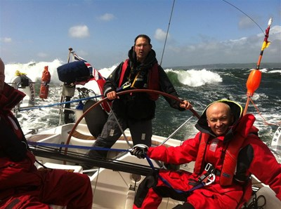 Richard Penketh Sails for Mothers of Africa