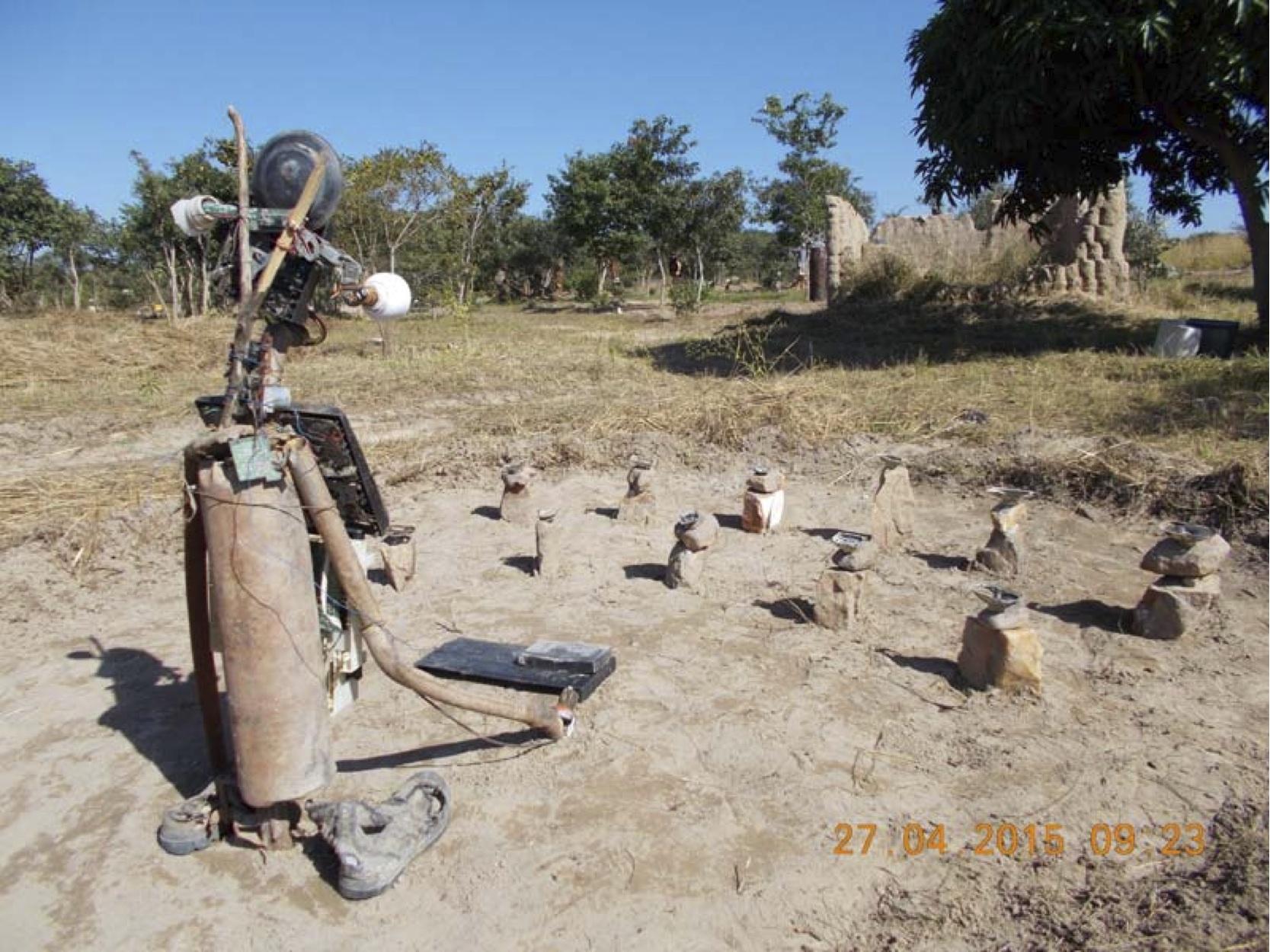Munandi Art Studio and the Harvesting workshop in Shiyala, Zambia