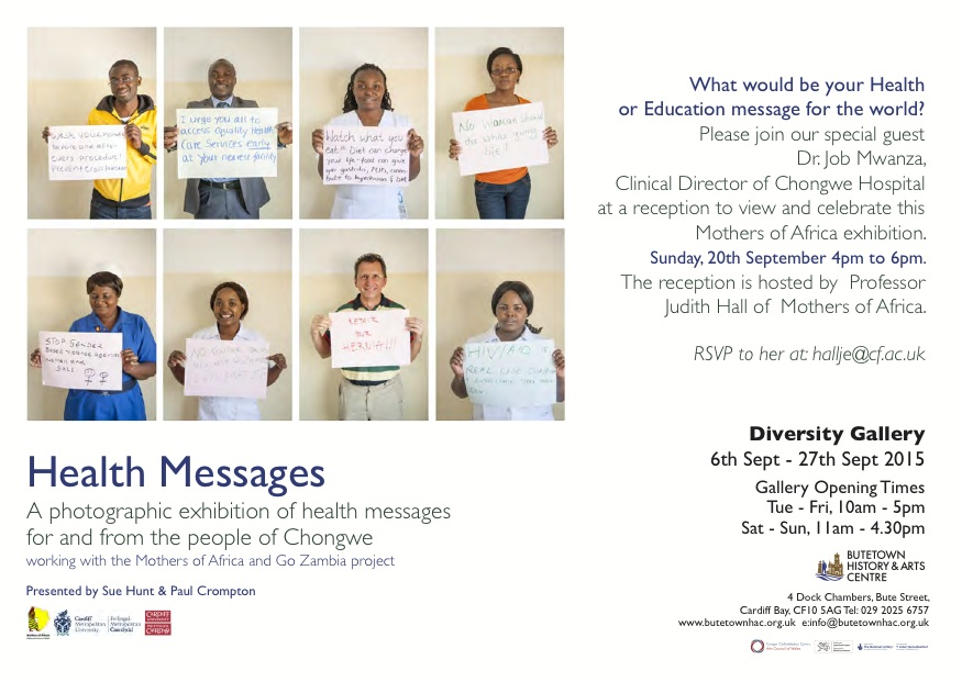 Health Messages Zambia and Wales