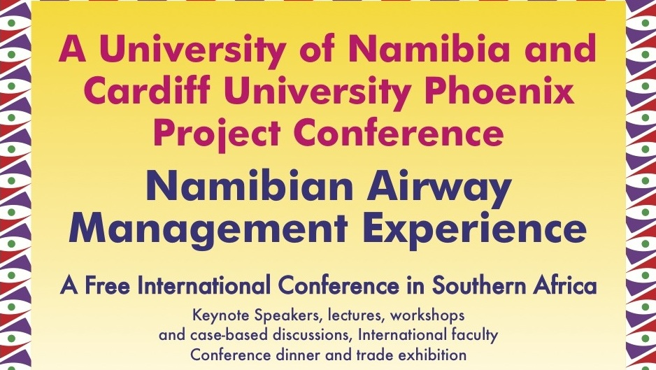 Cardiff and Namibia Universities run first ever SADC Airway Conference