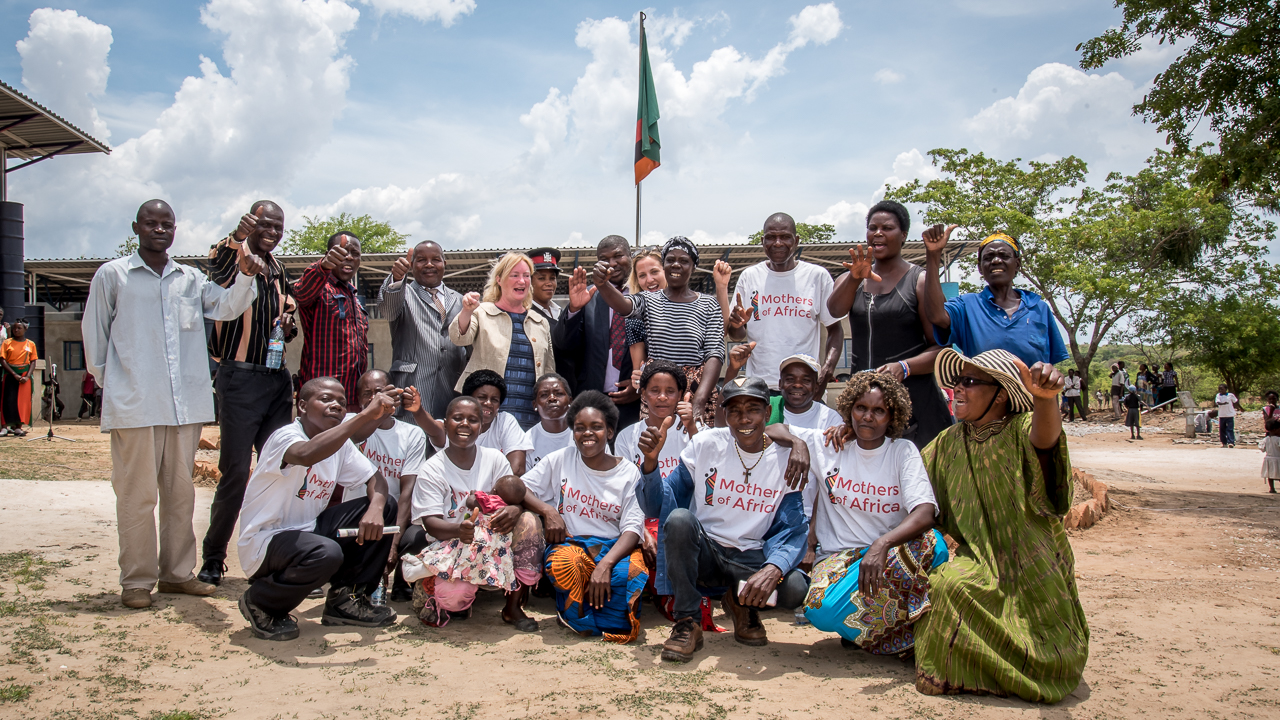 Mothers of Africa Opens Shiyala Primary School