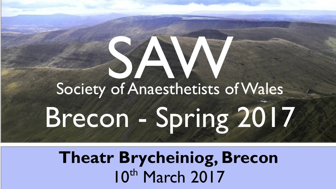 Calling All Welsh Anaesthetists: Better Together