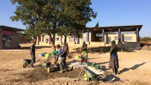 Breaking ground: final phase of Zambian school