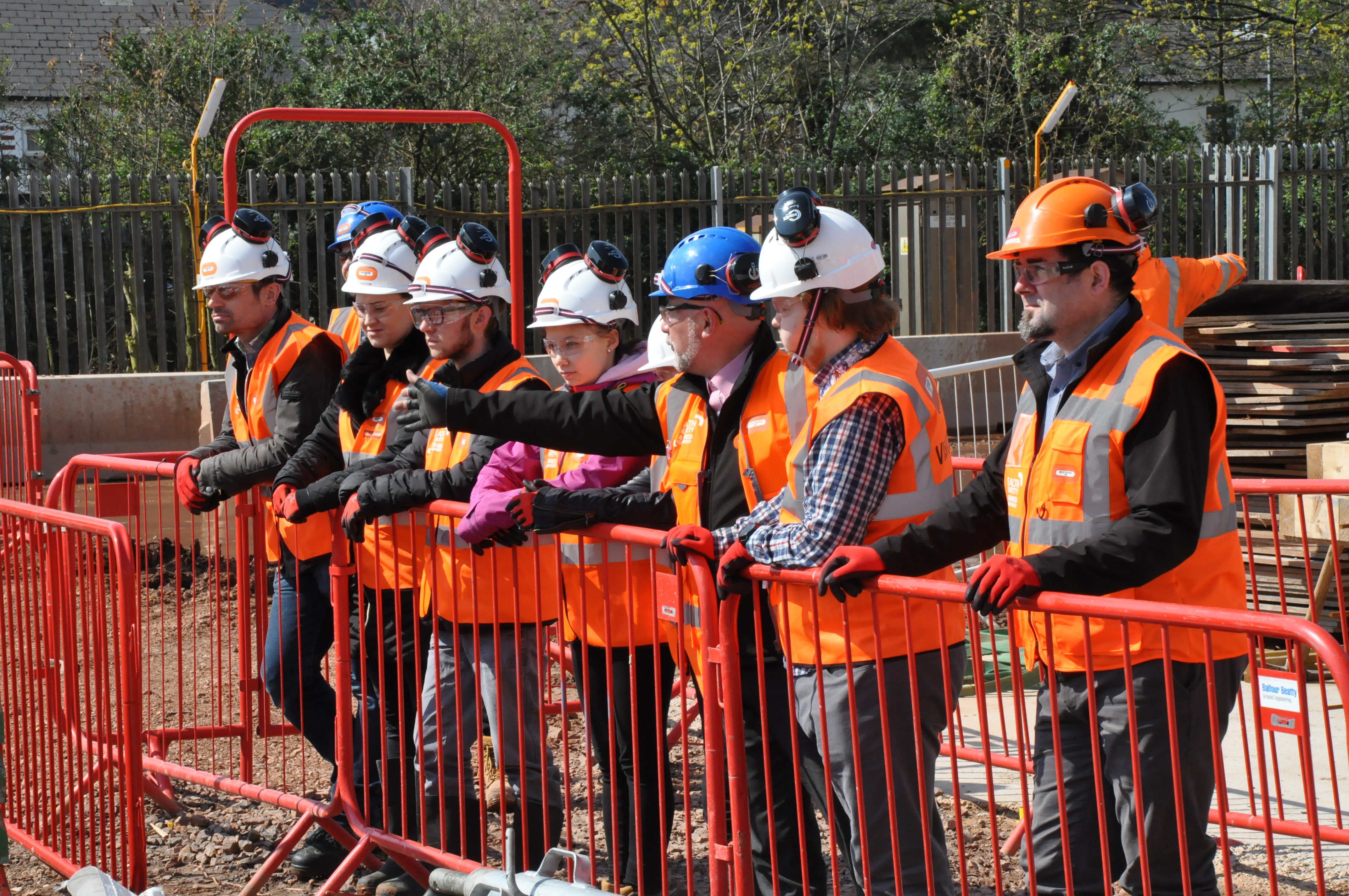 Young Civil Engineers Tour Innovation Campus
