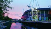 Match day at the Principality Stadium // Six Nations // Wales vs Ireland