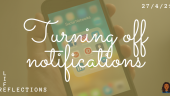 Lessons learnt from turning off social media notifications