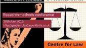 Gender Rules: Research Methods in Law – Dr Sharon Thompson, Dr Lydia Hayes and Dr Dan Newman