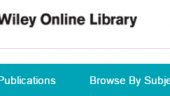 New eBook collection – Wiley Online Library