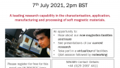 MAGMA Virtual Launch Event 7th July 2021