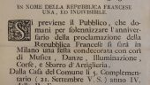 Object #6. Archival Documents of Napoleonic Milan