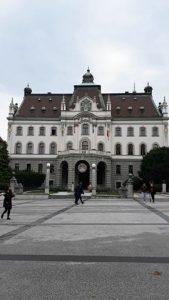Ljubljana University Main Building