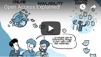 Open Access explained video