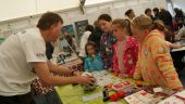 National Eisteddfod 2015 – Science Pavilion, Working Polymers