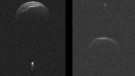 radar image of 1999 KW4