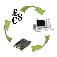 Recycling electronics into money
