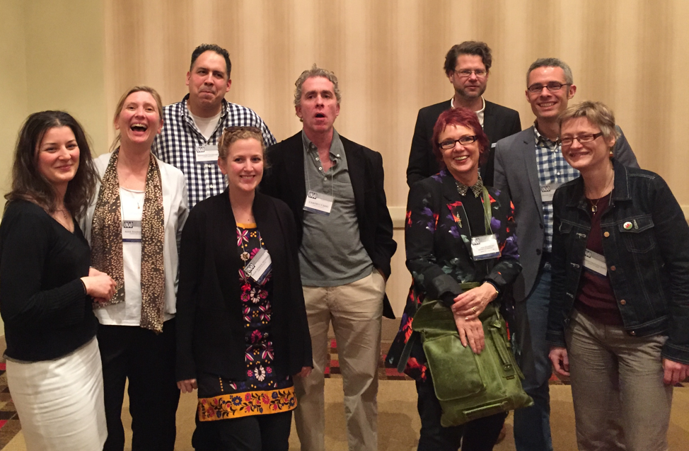 Me and some of my colleagues from the department expansion at a conference in 2016.