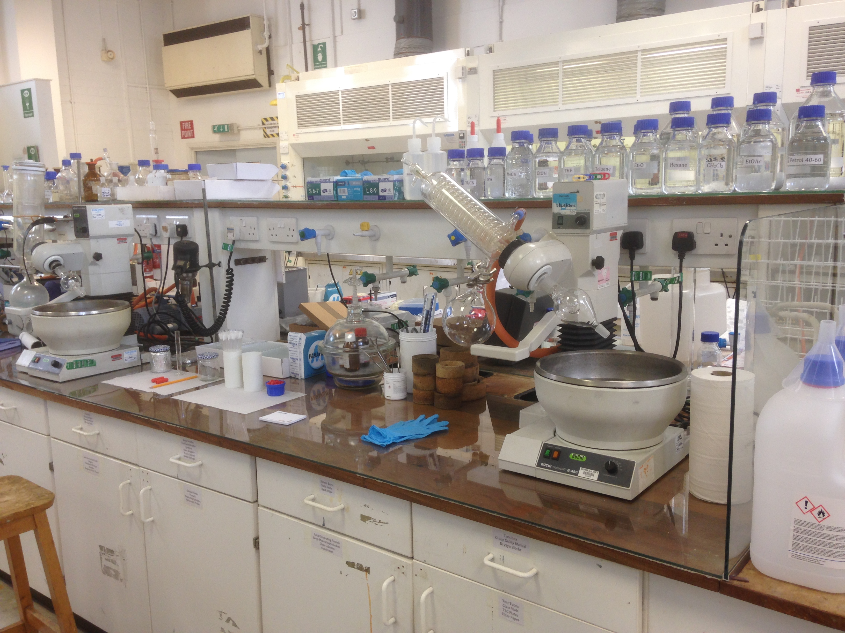 Cardiff Chemistry Building And Lab Set Up The Morrill Research Group